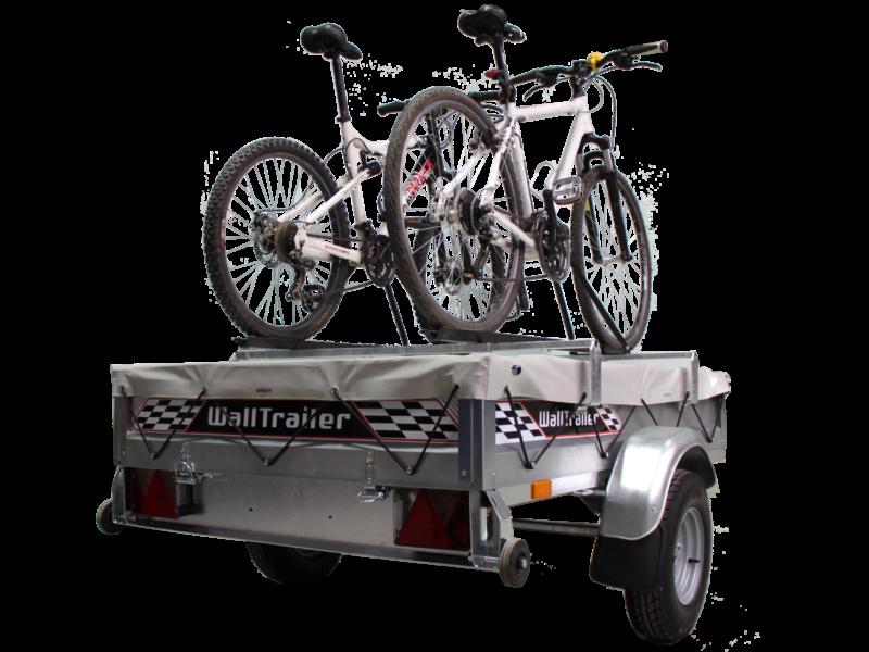 Walltrailer optie fietsendrager